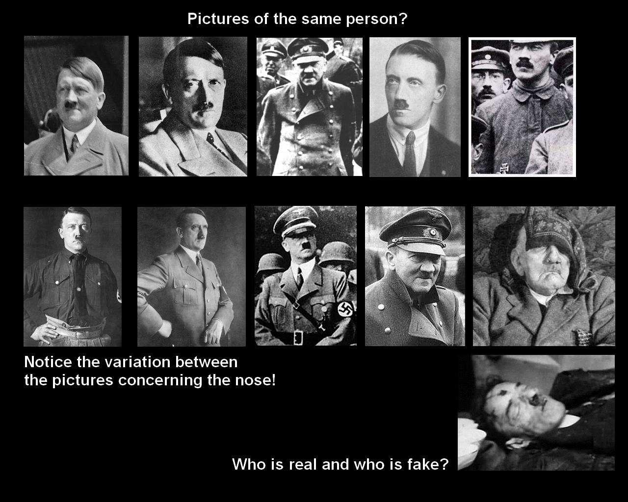 Adolf Hitler Dead Body