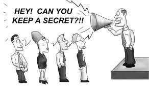 Image result for confidentiality cartoon