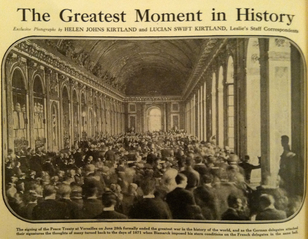 Treaty of Versailles | ILoveMyOriginalMartyBlog