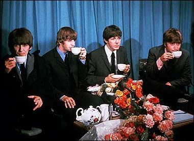 FabFour at tea