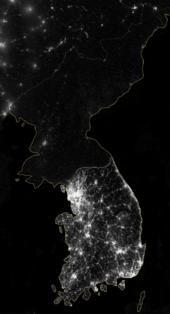 170px-KoreaAtNight20121205_NASA
