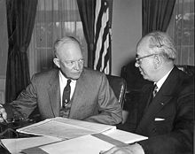 220px-Eisenhower_and_Strauss